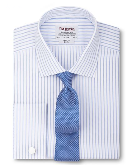 Blue Stripped Shirt by TM Lewin - Gift Ideas for Men