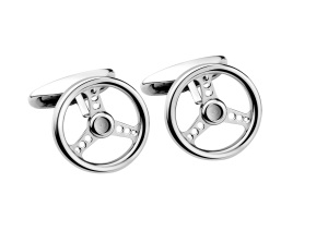 Racing Steering Wheel Cufflinks by Chopard