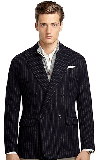 Navy Stripped Blazer - Gift Ideas for Men