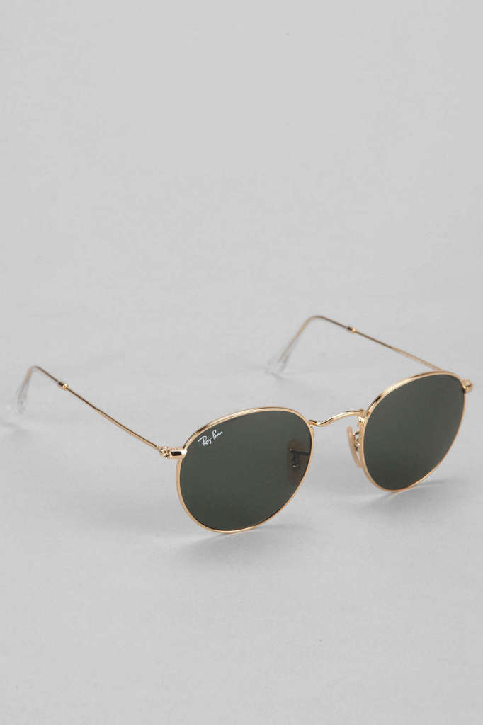 Classic Round Sunglasses by Ray-Ban