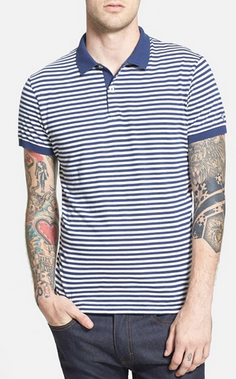 Stripe Polo by Gant Rugger - Gift Ideas for Men