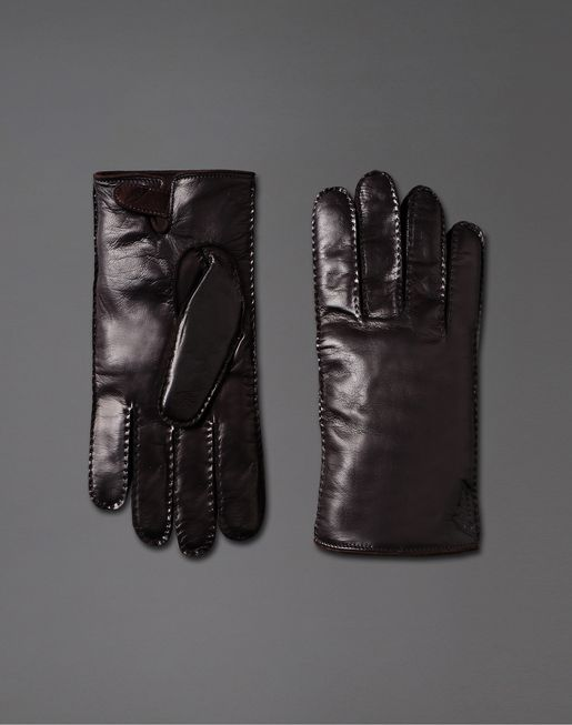 Leather Gloves by Brioni