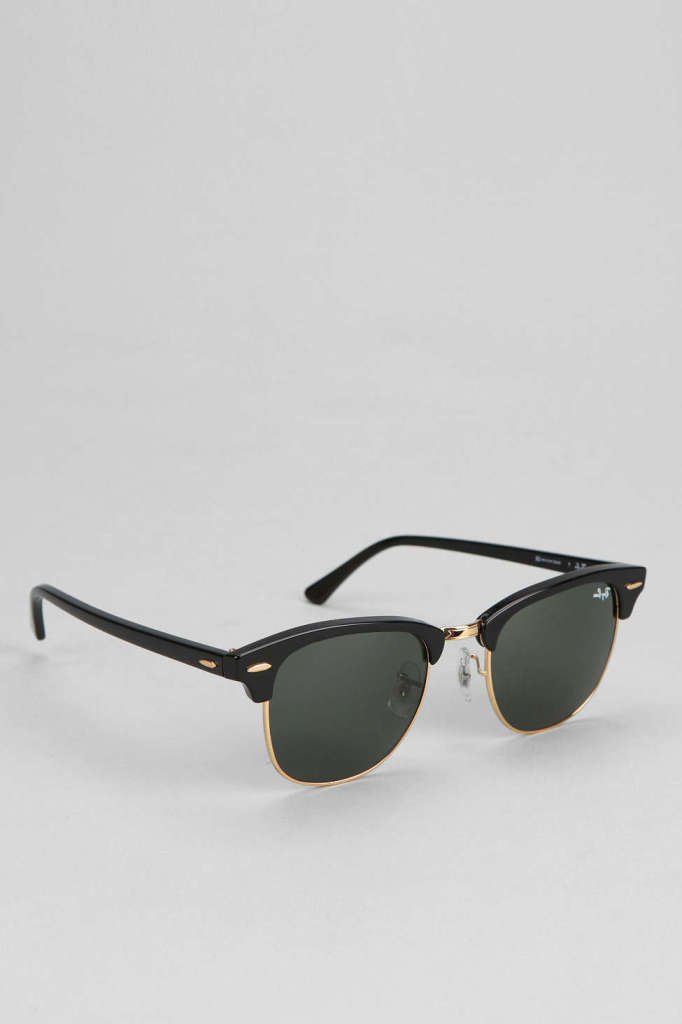Classic Clubmaster Sunglasses by Ray-Ban