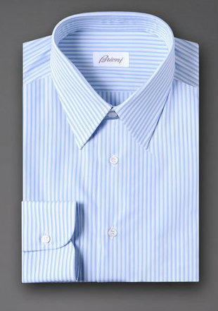 Blue Shirt by Brioni - Gift Ideas for Men