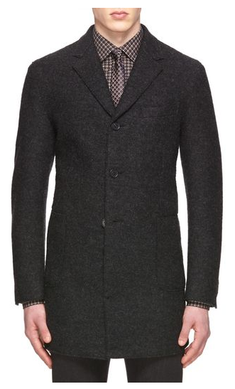 Felted Jersey Overcoat by Ermenegildo Zegna - Gift Ideas for Men