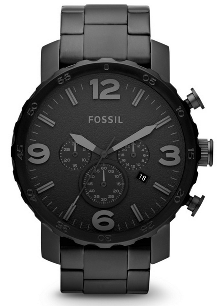 Chronograph Stainless Steel Watch by Fossil