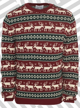 Reindeer Crossing Jumper by Topman - Gift Ideas for Men