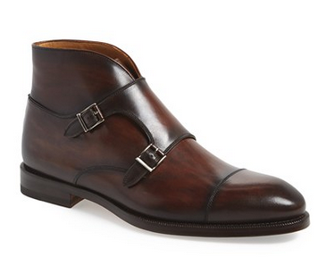 Double Monk Strap Boots by Magnani - Gift ideas for men
