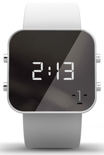 "Face ""Cancer"" Digital Silicone Watch by Facewatch"