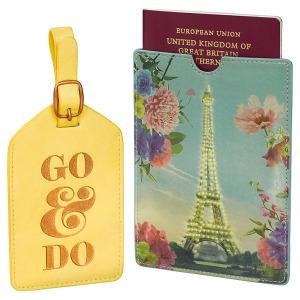 Rendezvous Luggage Tag & Passport