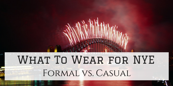 What To Wear for New Years Eve Formal or Casual