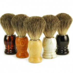 Italian pure badger shaving brush