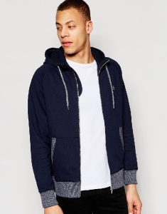 Blue Zip Hoodie by Original Penguin - Gift Ideas for Men