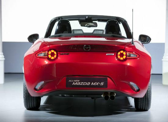 2015 Mazda MX-5 rear