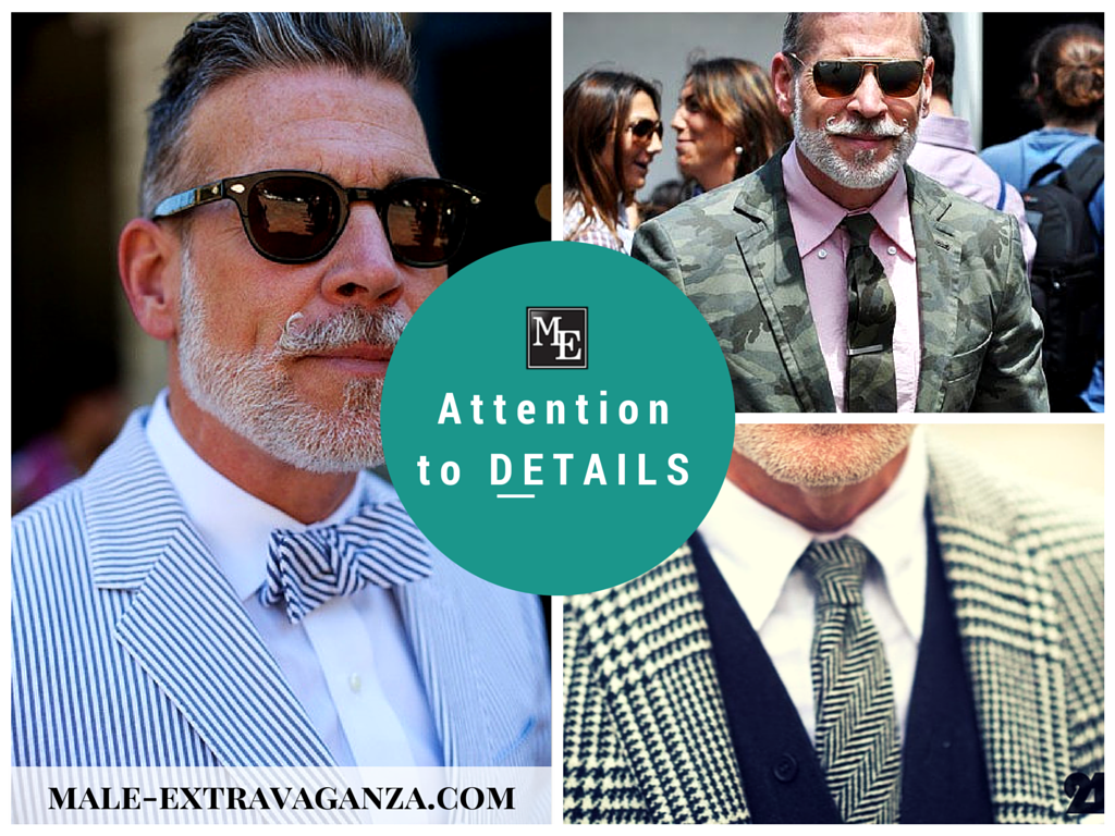 Attention to DETAILS by Nick Wooster