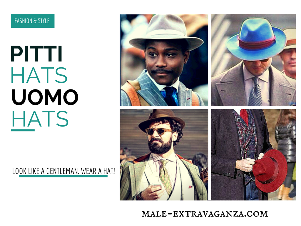 Hats Trend at Pitti Uomo 87 2015
