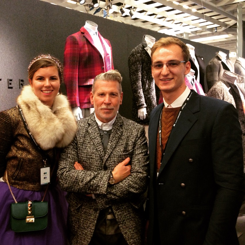 Mihai Herman - Roswitha Moti - Nick Wooster Interview for Male Extravaganza