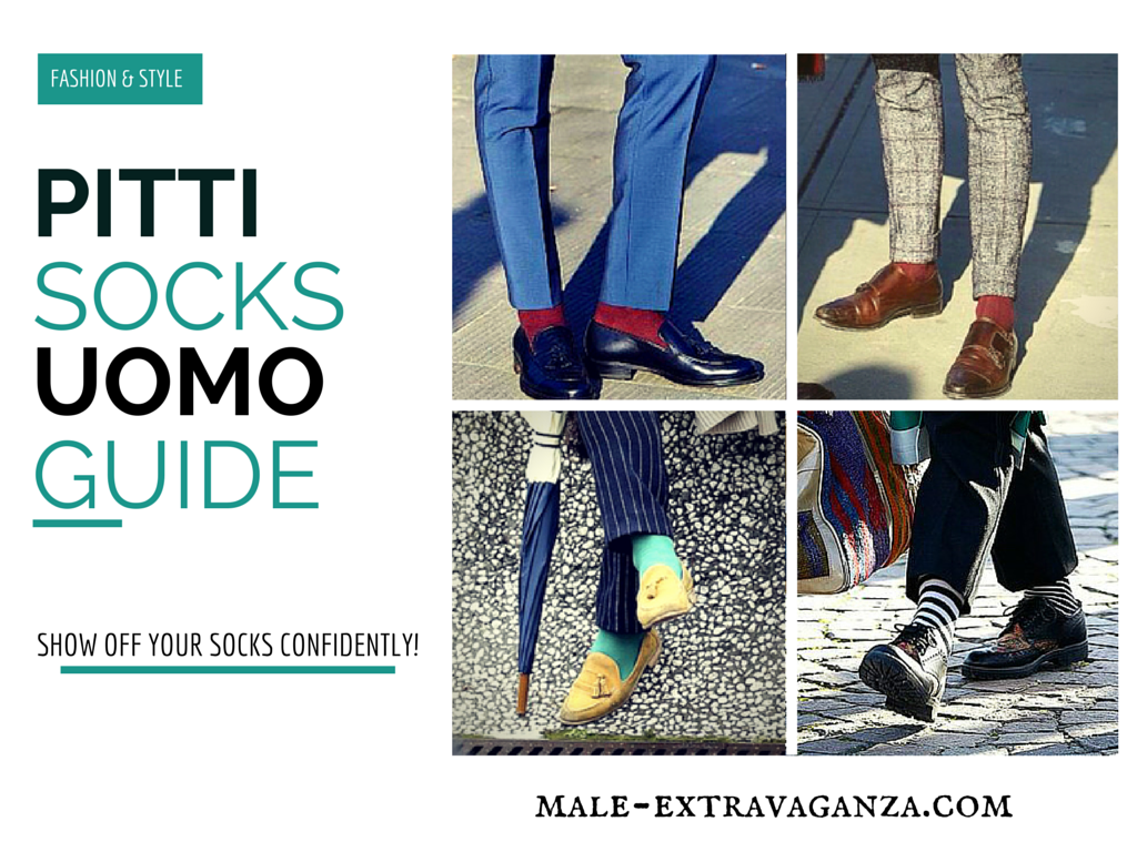 Socks Trends at Pitti Uomo 87 2015