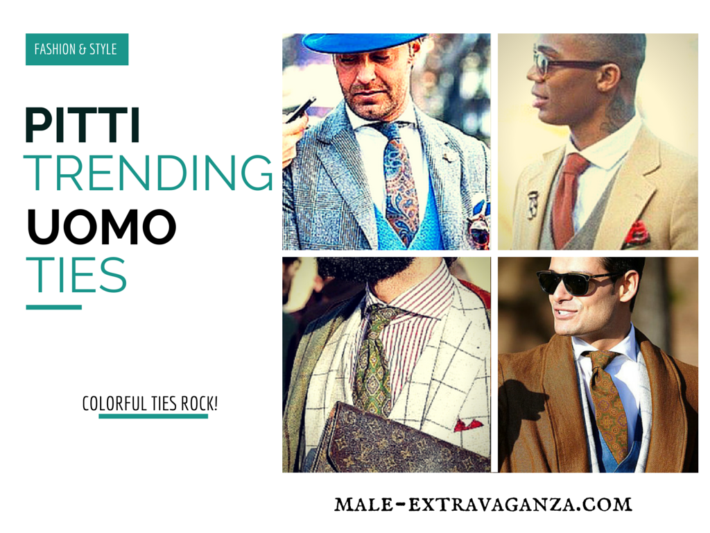 Trending Ties at Pitti Uomo 87 2015