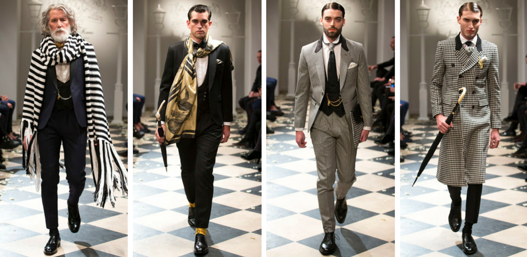 Joshua Kane Menswear AW15 Collection