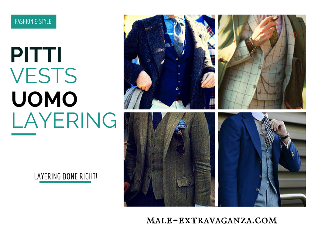 Vests Layering at Pitti Uomo 87 2015