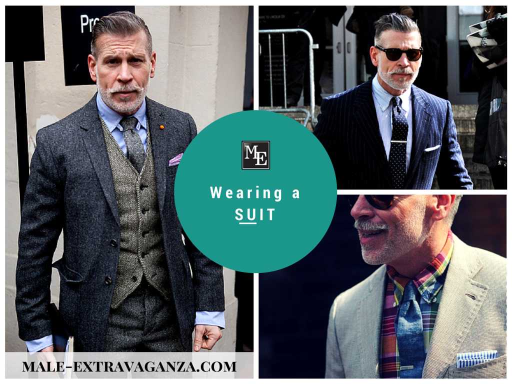 Wearing a Suit Nick Wooster Inspiration