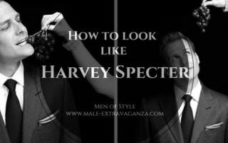 How To Dress Like Harvey Specter 2
