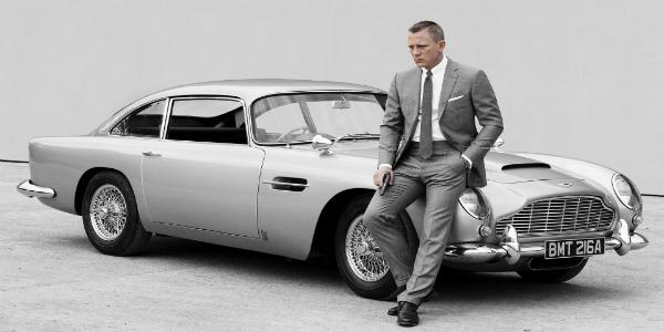 Daniel Craig DB5
