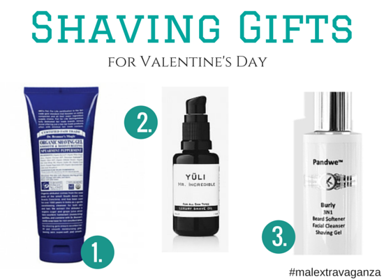 shaving gifts for valentine's day