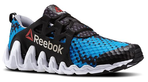 Reebok ZigTech Big N Fast So Cal in Black and Blue