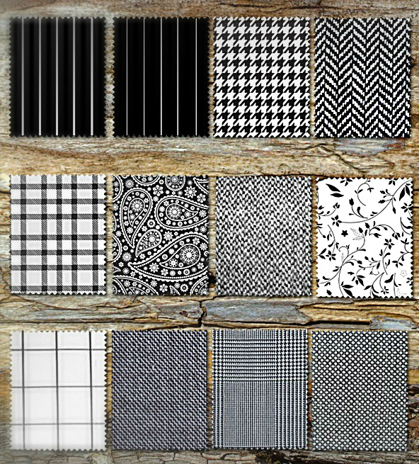 different types of fabric patterns