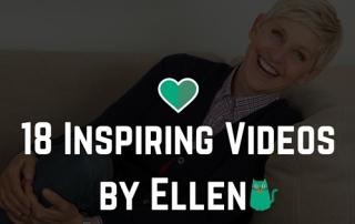 18 Inspiring Videos From the Ellen Show 2