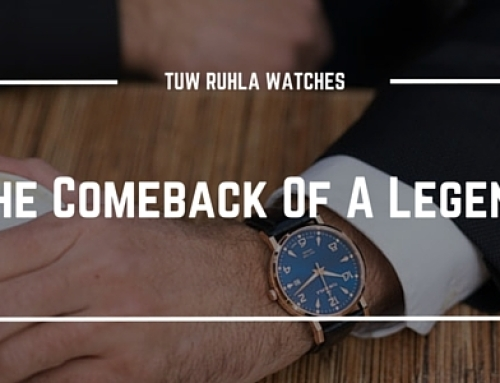 TUW Ruhla Watches – The Comeback Of A Legend