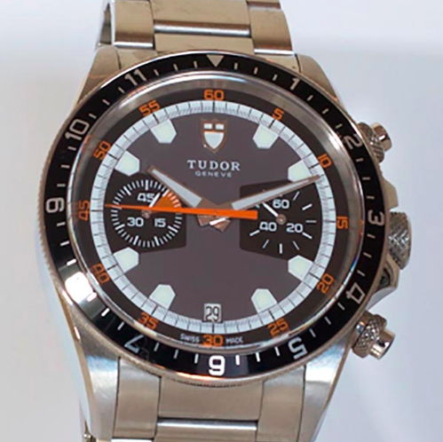 2. Tudor Heritage Chronograph Men's Steel