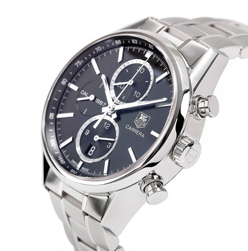 5. TAG Heuer Carrera Calibre 1887 Chronograph Men's Steel